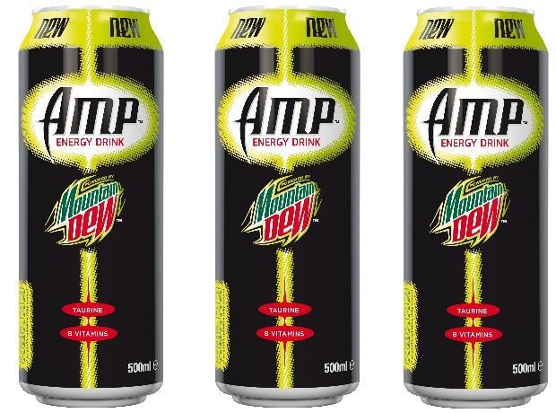 New Mountain Dew Energy Drink Unveiled