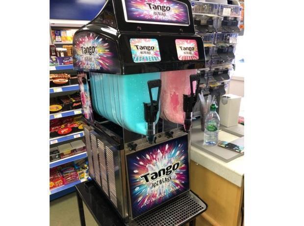 Retailer hails impact of new Slush Puppie machine