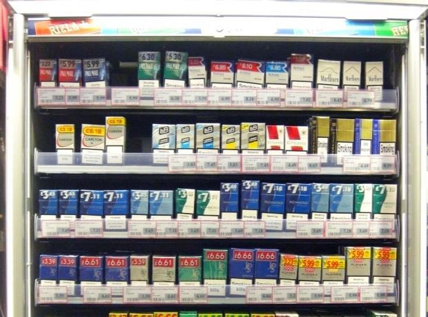 Variety of Marlboro cigarettes