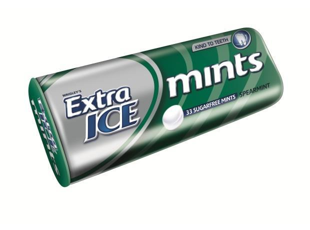 Wrigley Refreshes Extra And Extra Ice Mints Packs