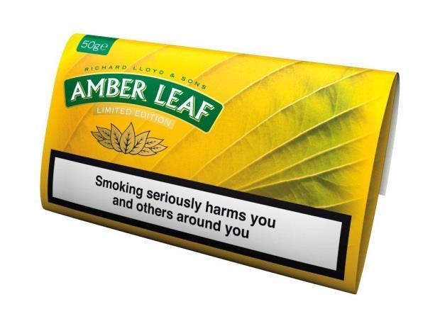 Jti presents limited edition amber leaf for Amber leaf