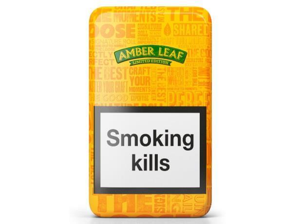 Jti Presents New Limited Edition Amber Leaf Tins