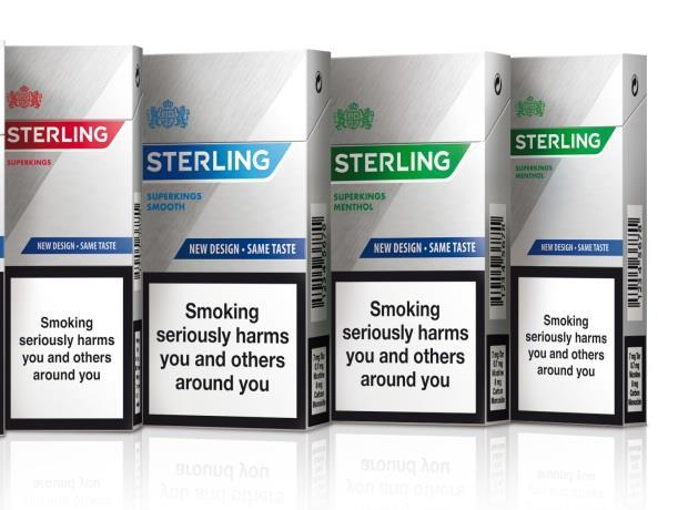Jti S Sterling Brand Gets A Fresh New Look