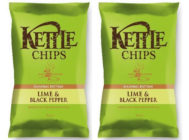 Kettle adds lime & black pepper seasonal variant