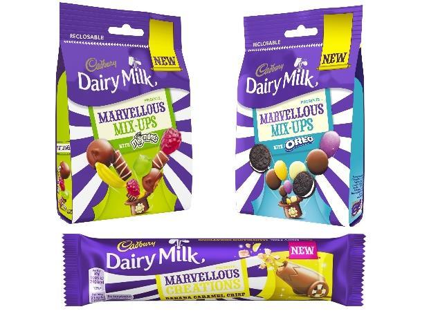 Cadbury Conjures Up Three New Marvellous Products For Spring