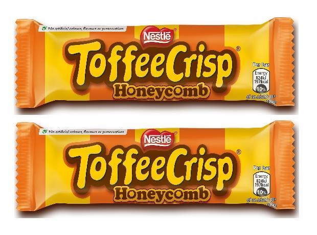 New Toffee Crisp Honeycomb bar launched by Nestlé