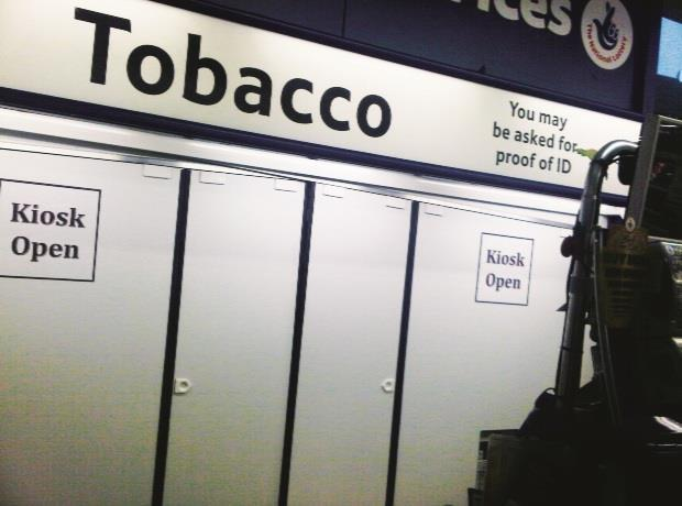 Small Stores Face Tobacco Display Ban Alone