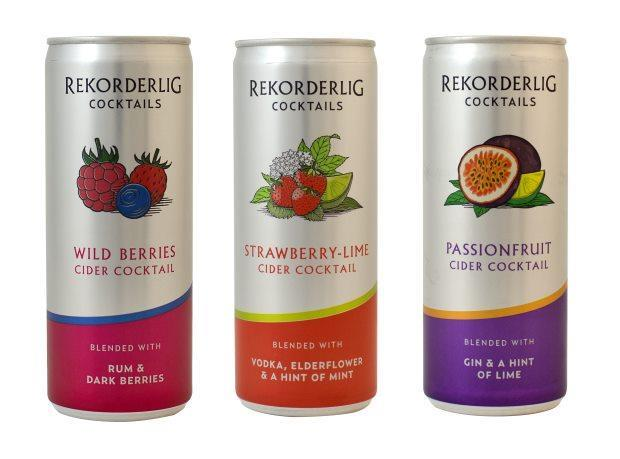 Rekorderling Strawberry or Wild Berry flavors