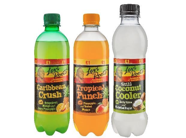Levi Roots Soft Drinks