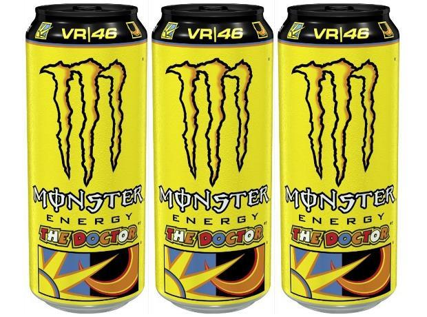Monster Energy launches Valentino Rossi variant