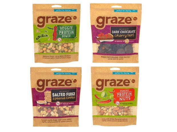 Graze Launches Sharing Bags