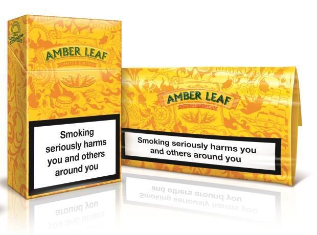 Jti reveals limited edition packs for amber leaf for Amber leaf