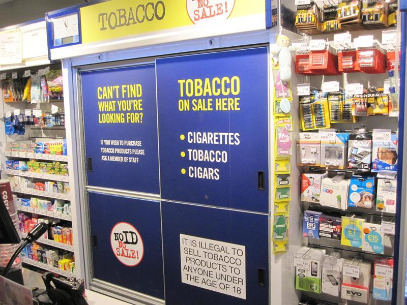 Age to smoke cigarettes in Maryland
