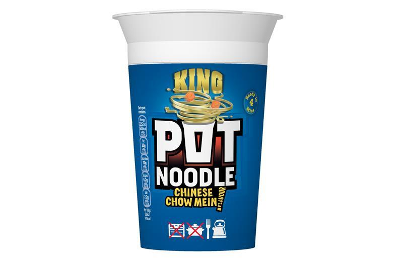 New Chinese Chow Mein King Pot Noodle