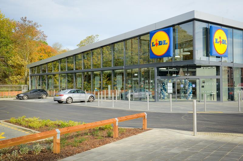lidl signals expansion plans with first new concept store. Black Bedroom Furniture Sets. Home Design Ideas