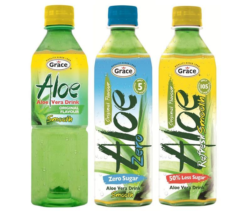 grace foods launches three new aloe vera drinks. Black Bedroom Furniture Sets. Home Design Ideas