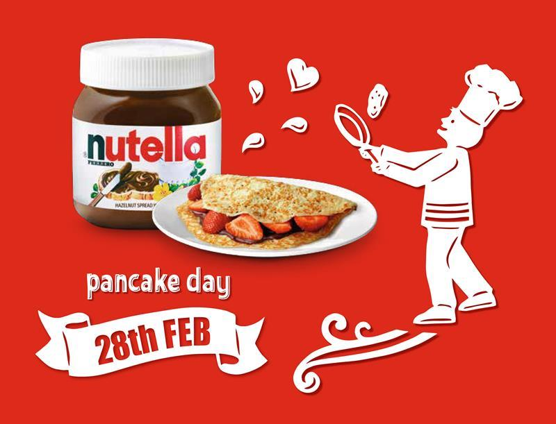 Pancakes Love Nutella Campaign Returns