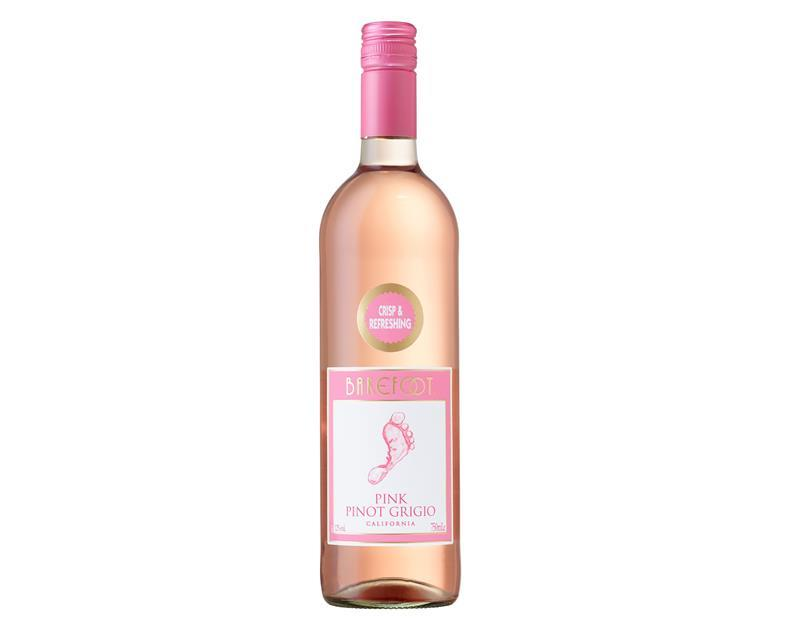 Barefoot Adds Pink Pinot Grigio To Ros 233 Category