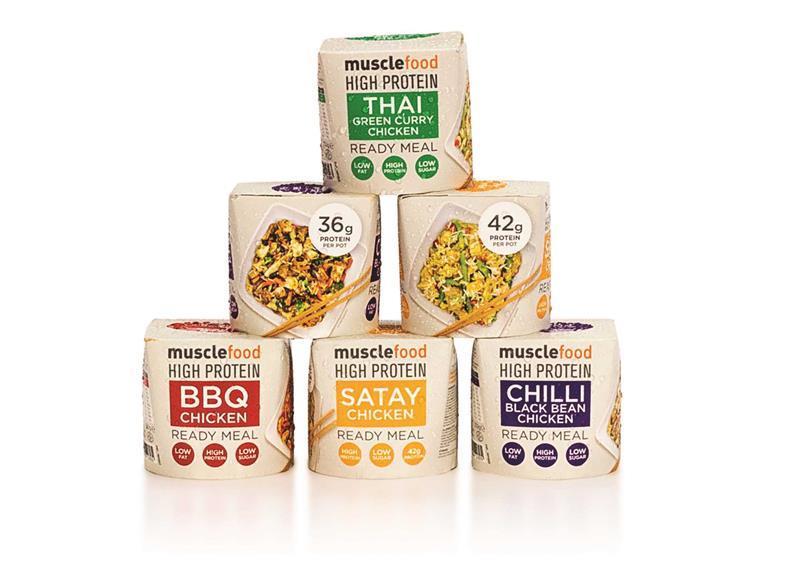 High Protein Ready Meals Enter Spar Stores