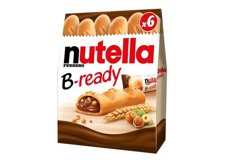 Nutella Enters Biscuit Aisle With B Ready