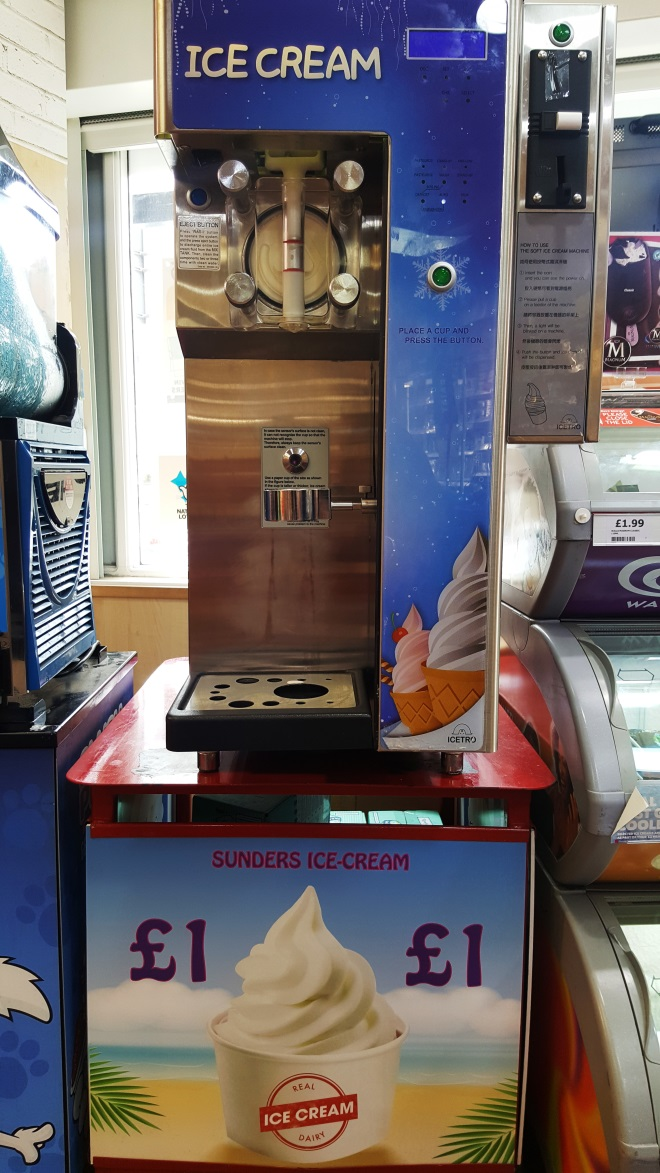 ice cream self serve