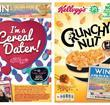 Kellogg's Crunchy Nut back and front of pack