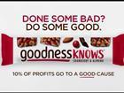 Goodness Knows TV ad still