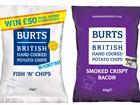 Burts Chips Red Tractor