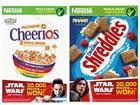 Nestlé Star Wars packs