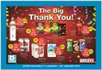 Bestway Big Thank You Promotion