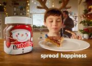 Nutella Christmas campaign