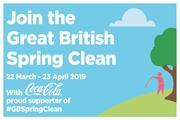 CCEP Great British Spring Clean