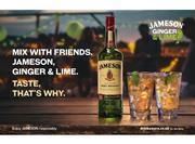 Jameson, Ginger and Lime