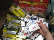 Illicit tobacco seizure