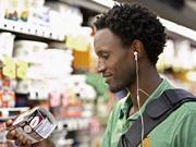 shopper consumer supermarket shopping pack label information