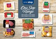 One Stop own label range