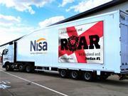 Nisa Lion vehicle #itscominghome