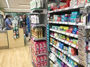 Medicines on shop floor