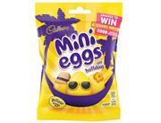 Mini Eggs on holiday