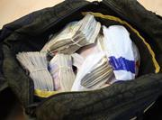 Illicit tobacco cash