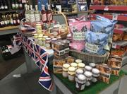 Royal wedding display at Dean Holborn's Redhill store