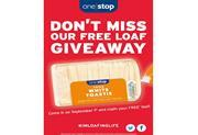 One Stop Free Loaf Giveaway