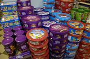 Chocolate tubs