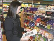Retailer with planogram