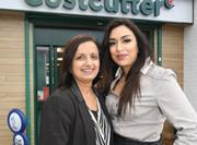 The store is run by long-standing Costcutter retailers, Manjula (left) and her daughter Suenita Keshwara (right)
