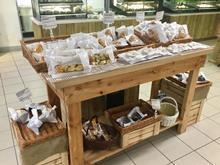 Rustic Bakery display