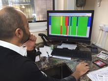 Chaz Chahal using his EPOS system