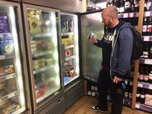 Take home ice cream shopper
