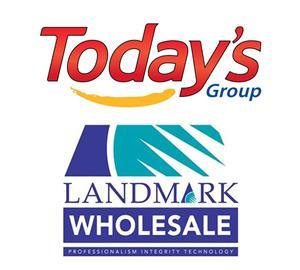 Landmark and Todays merger combined logo