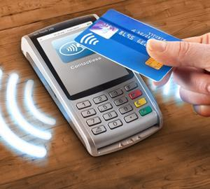 Contactless card transactions rose 15%